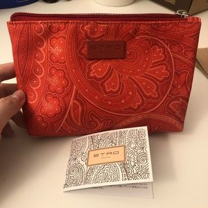 ETRO Toiletry Pouch   JAL Business Class Toiletry